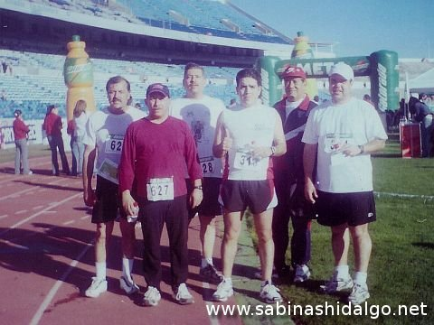 Atletas sabinenses en la Runner's North 10K