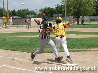 Error y safe en primera base