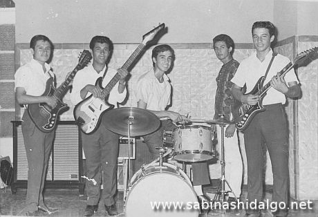 Grupo de rock and roll Big Boys en 1966