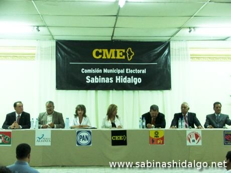 Debate entre candidatos a diputado local