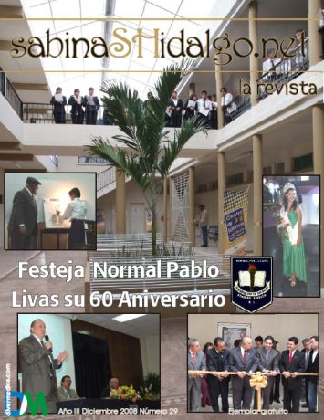 Disponible para descarga La Revista de Diciembre 2008